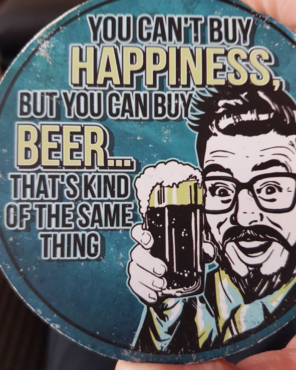 Beer happiness