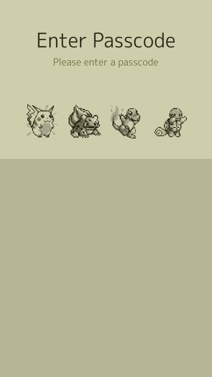 Pokemon Line Lock
