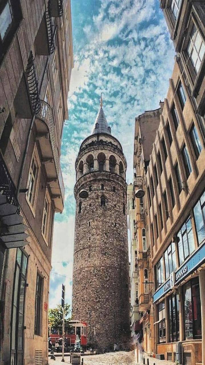 Galata tower kule