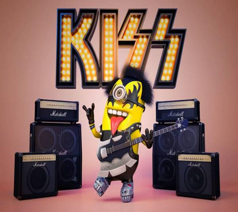 Kiss Minion