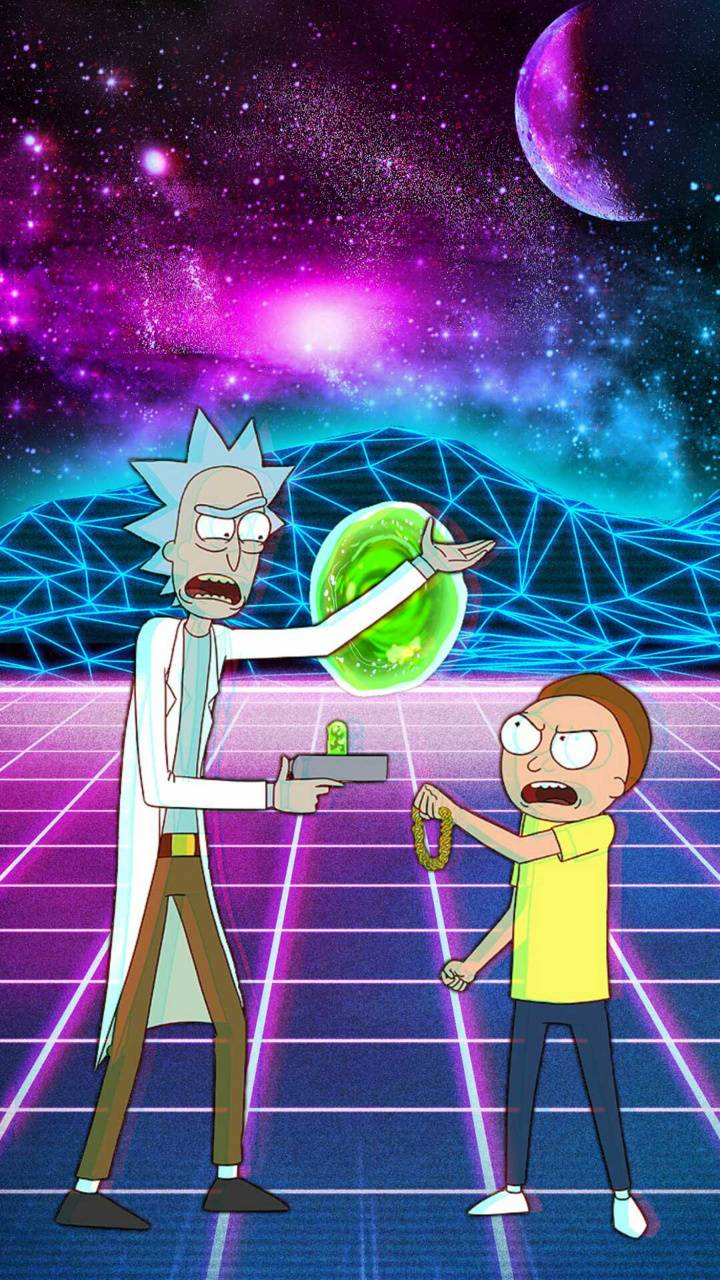 Rad Rick And Morty Wallpaper By Actingdamickey 3a Free On Zedge