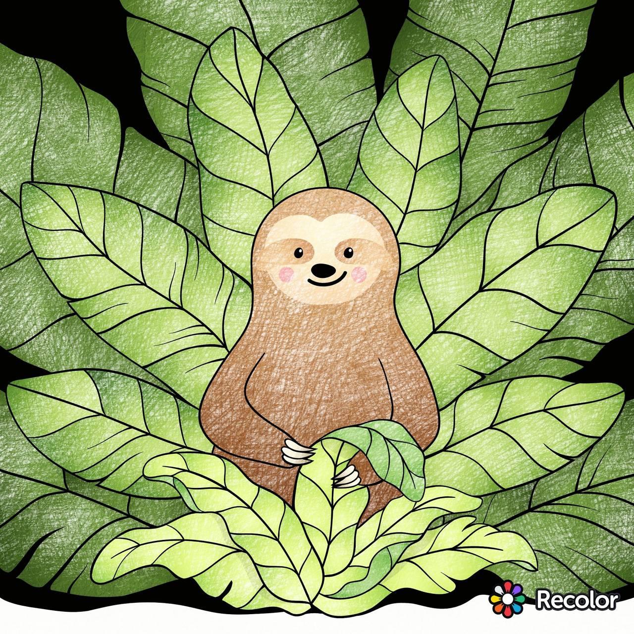 Cutie Sloth