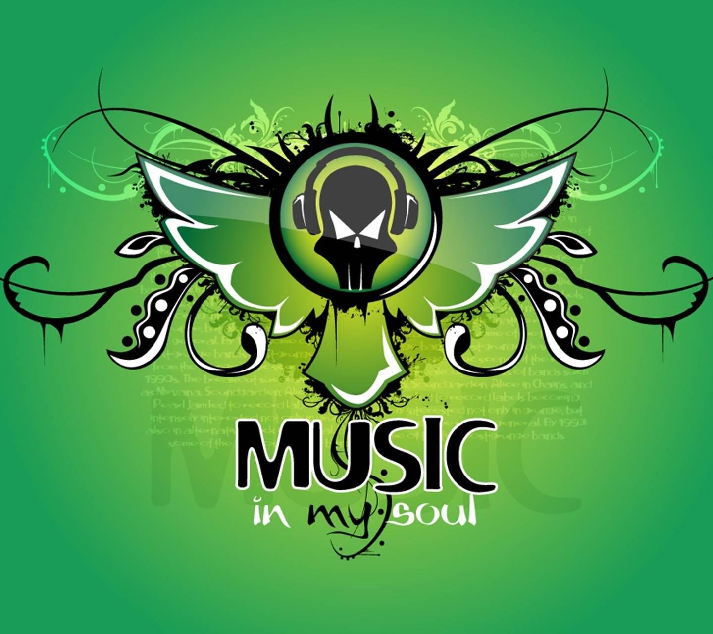 Music Soul Green