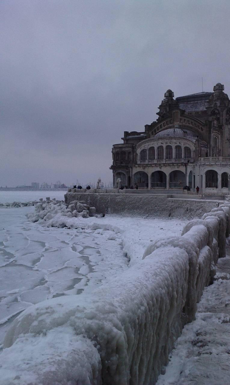 Frozen Black Sea