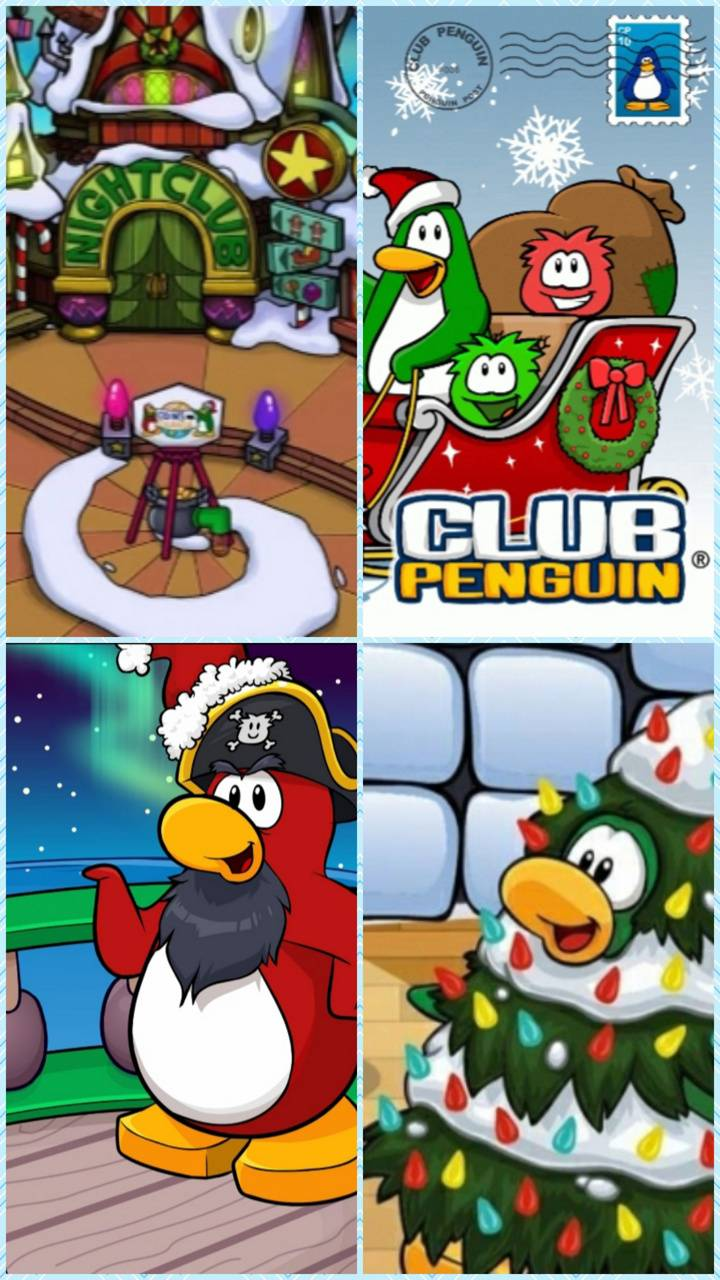 Club Penguin Xmas 2 wallpaper by