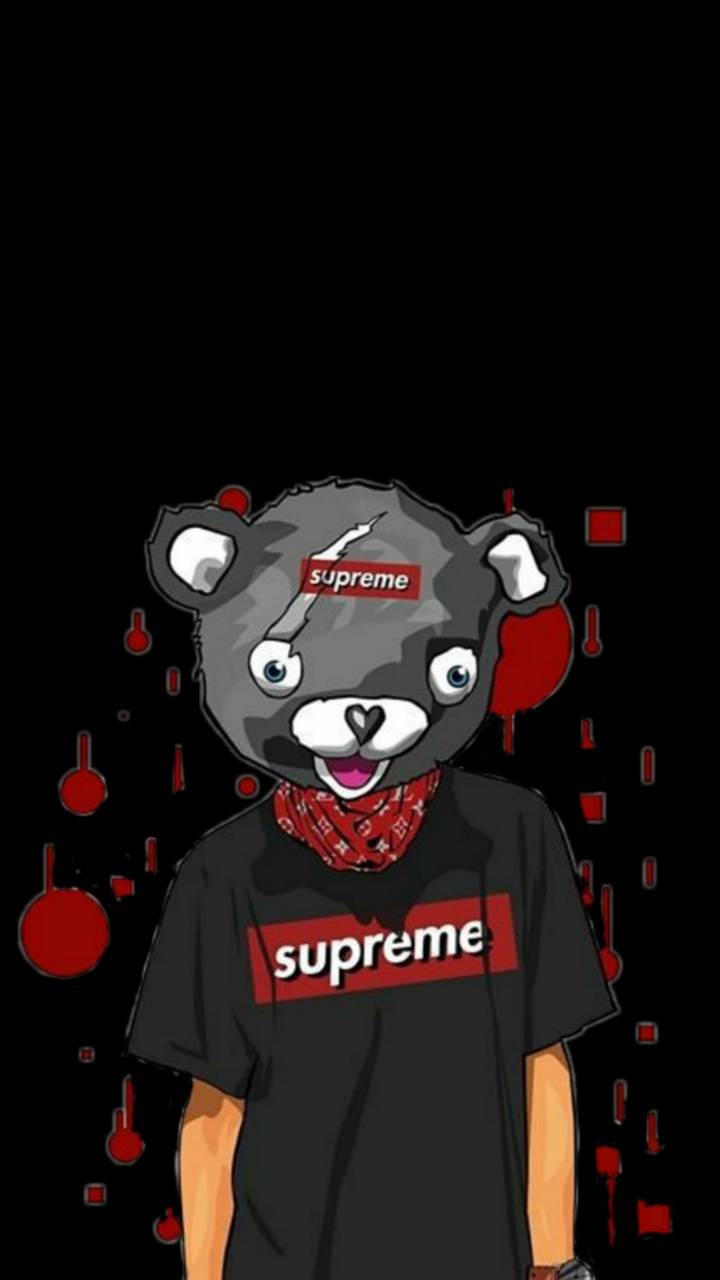Supreme Bear wallpaper by creme_brulee - a2 - Free on ZEDGE™