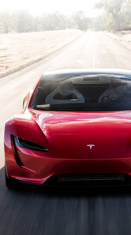 Tesla Roadster Wallpapers Free By Zedge