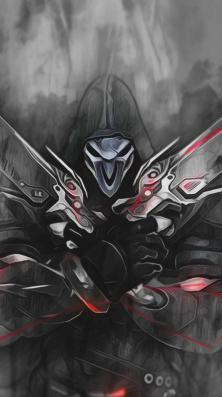 Overwatch Reaper Wallpapers Free By Zedge