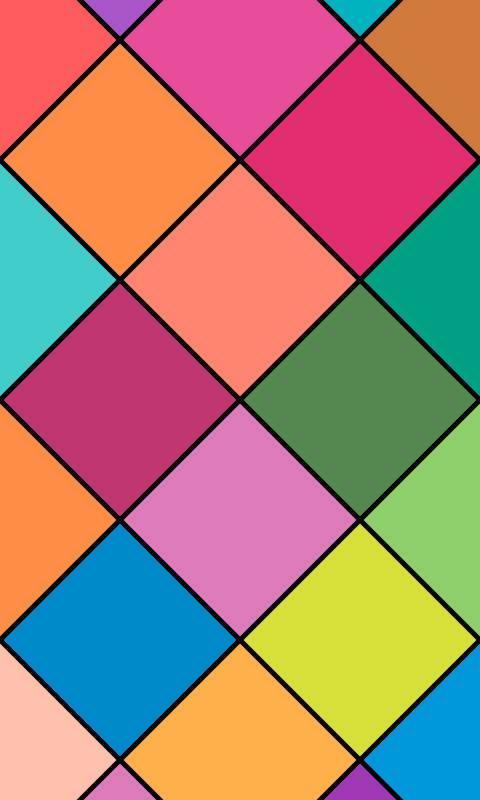 Colorful Rhombs
