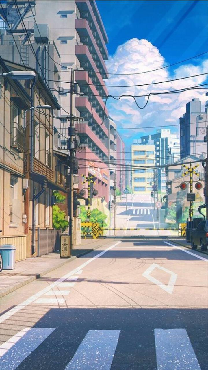 Anime city wallpaper by Majist - 72 - Free on ZEDGE™