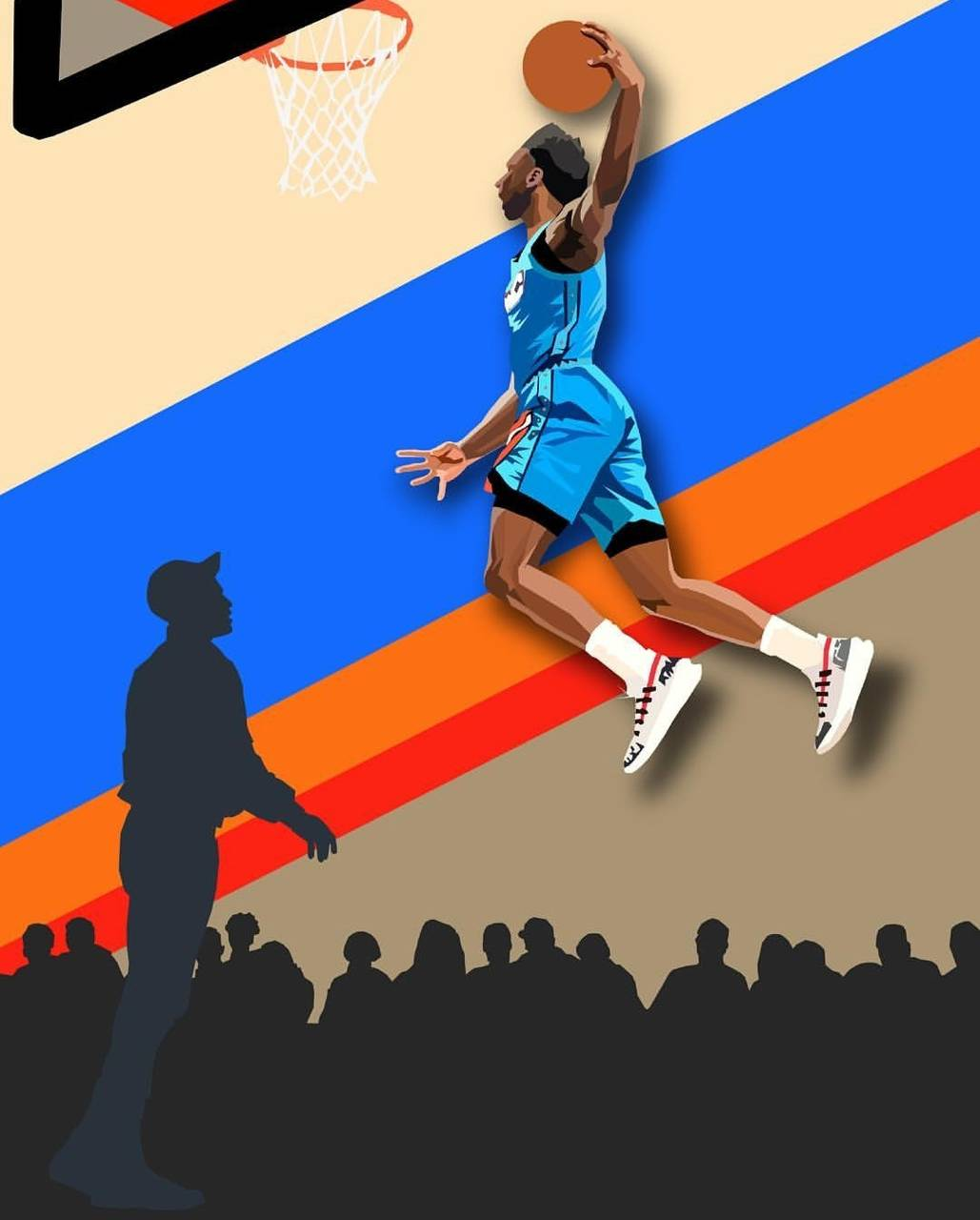 Basketball Dunk Wallpaper By Issamch 9c Free On Zedge