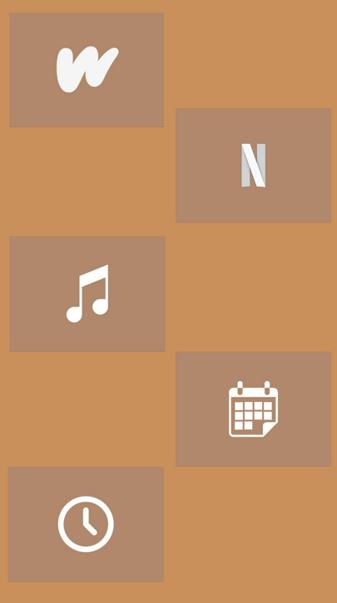 Brown icons 6