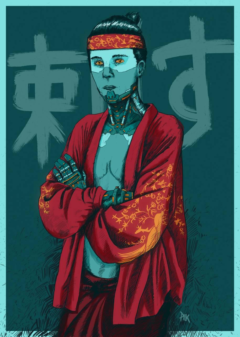oriental cyborg