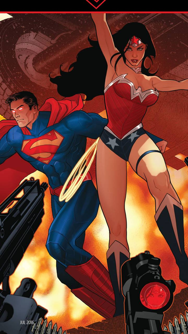 Diana and Superman