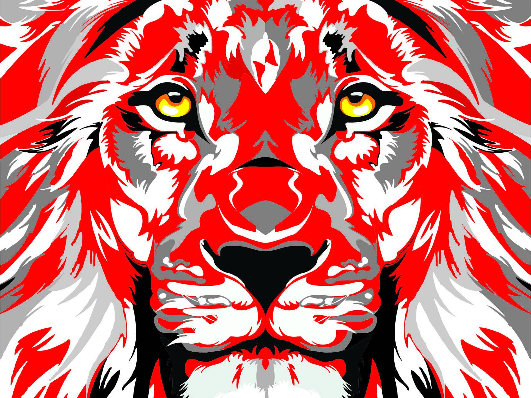 Leon rojo