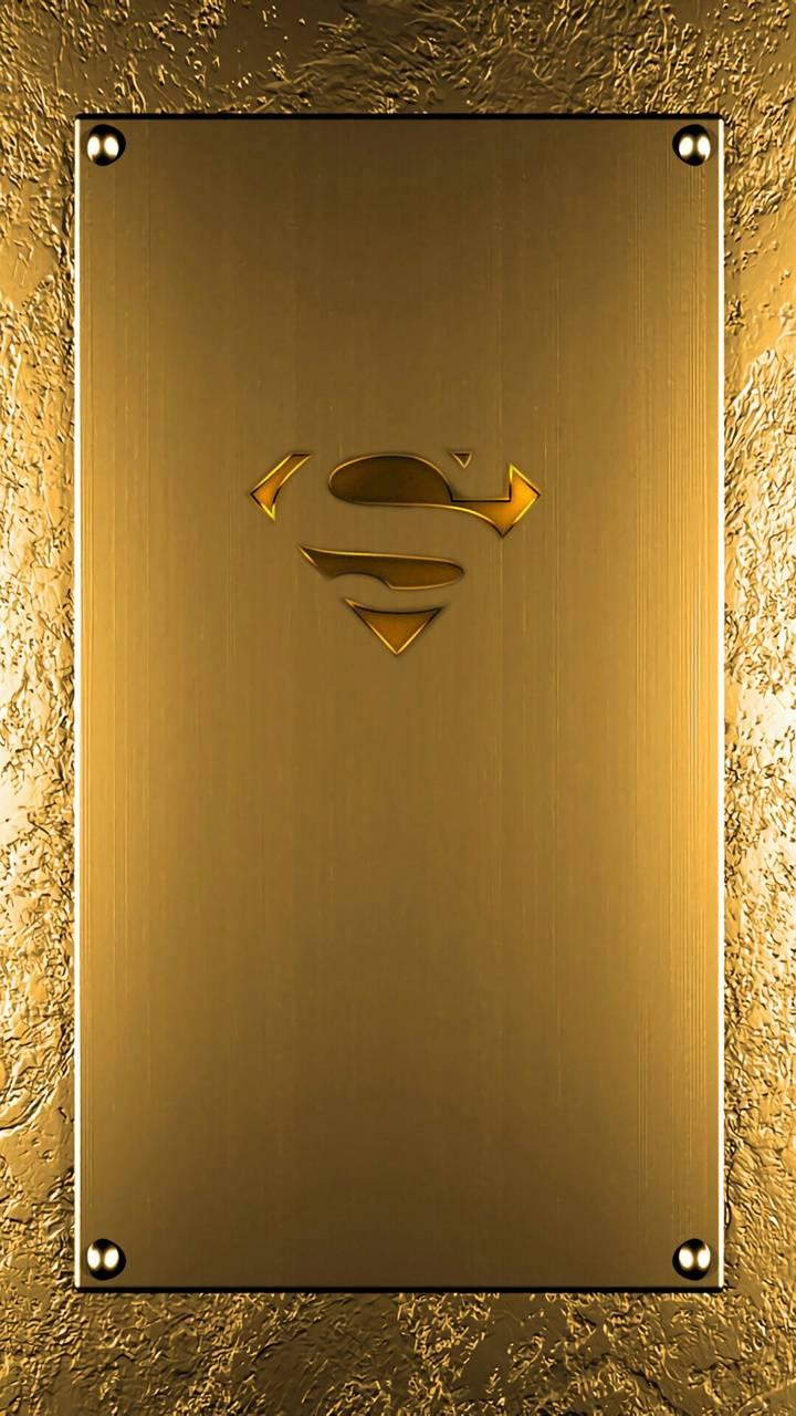 Gold superman