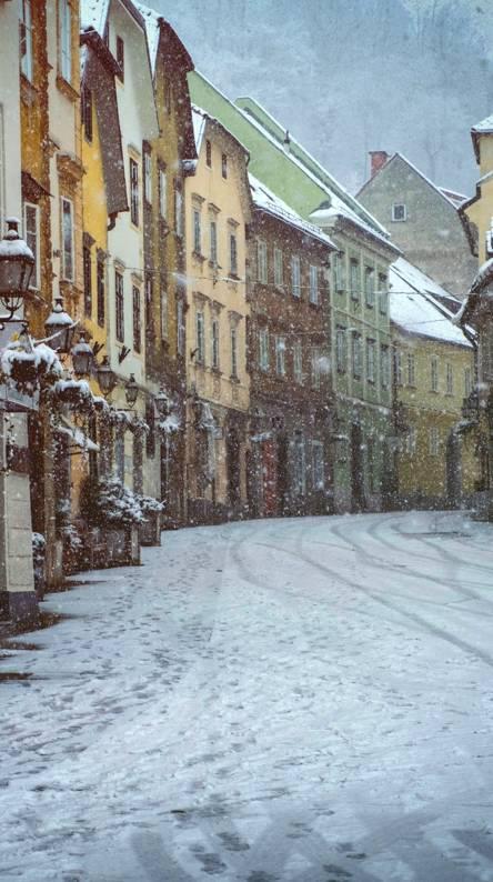 Cozy Winter Street