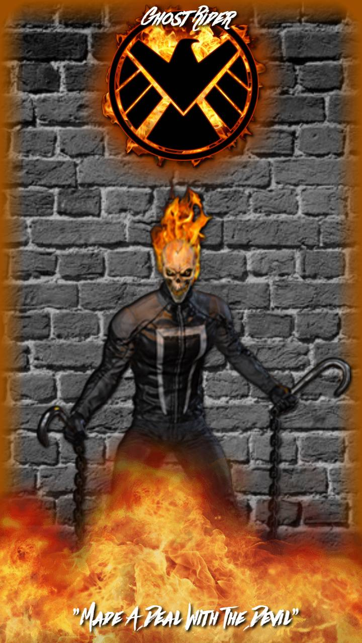 Ghost Rider Aos Wallpaper By Itsjaaack 6e Free On Zedge