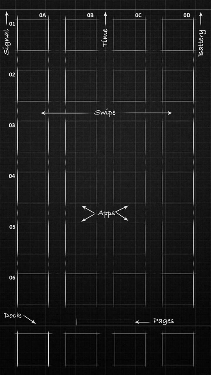 iPhone BluePrint wallpaper by Dr_Stark