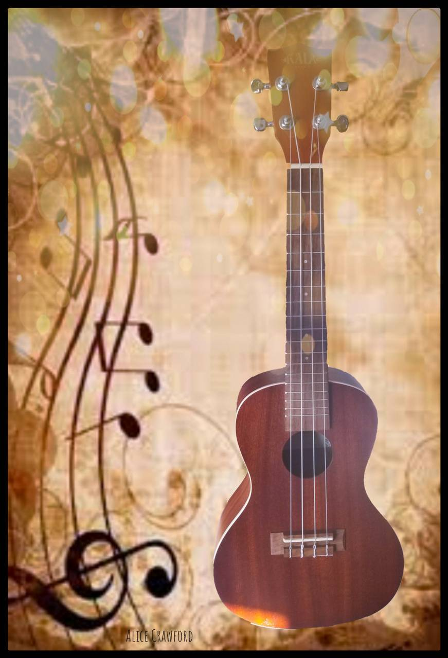 Ukelele background