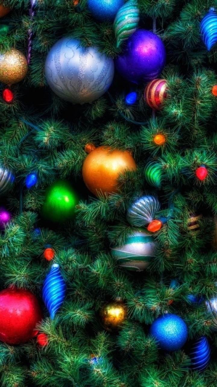 Новогодние елки картинки на телефон