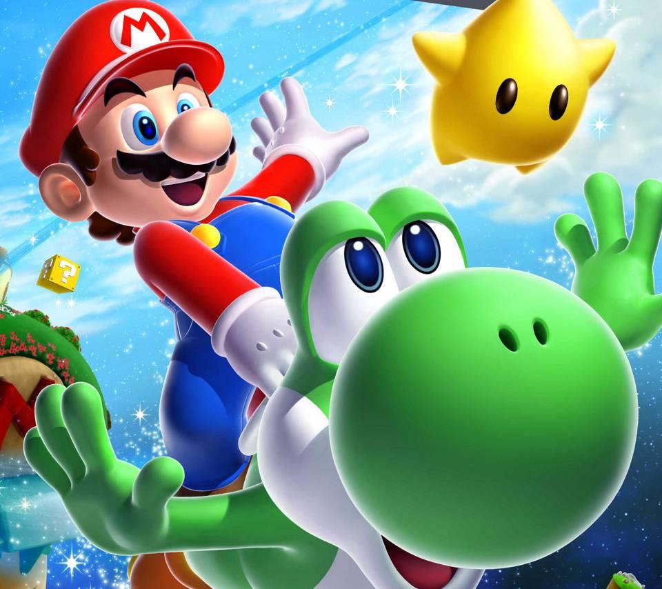 Super Mario Galaxy 2 Wallpaper By Bennrockzzz A9 Free On Zedge
