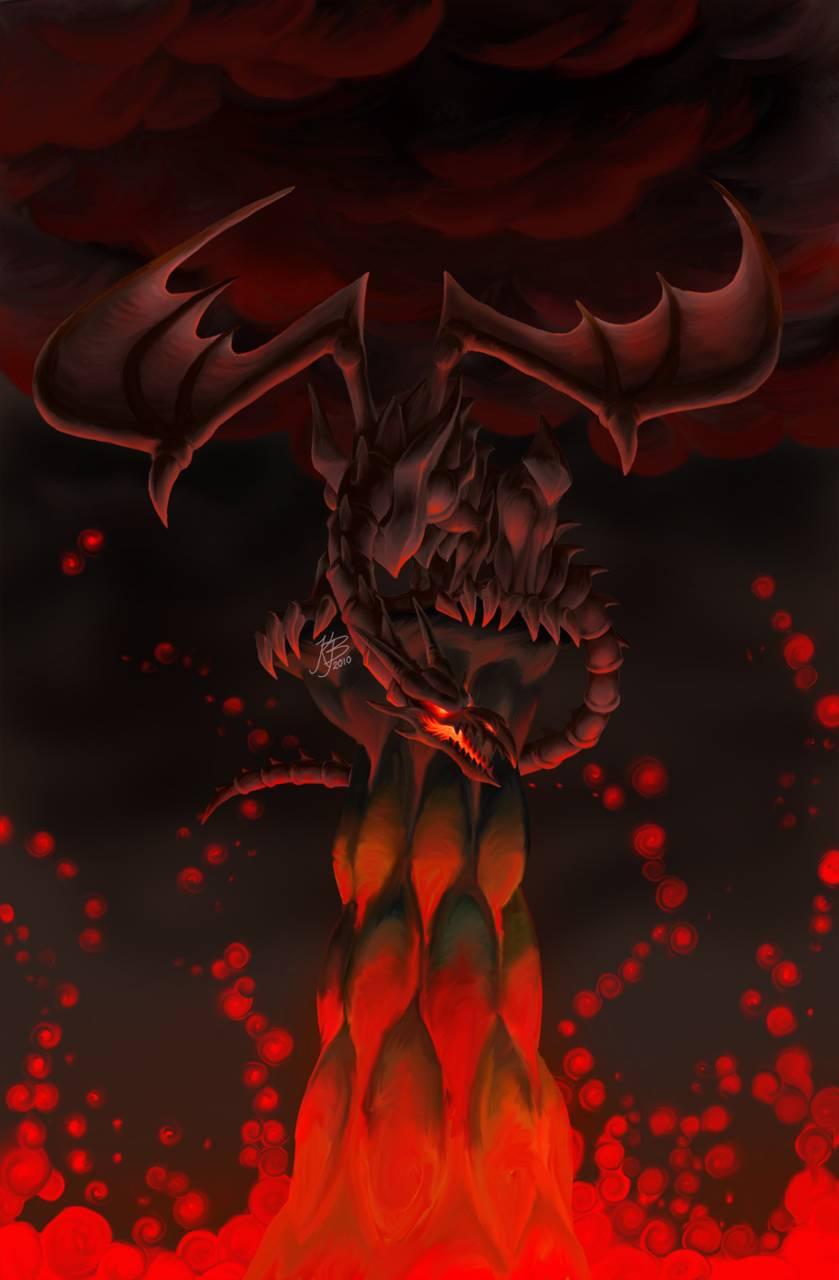 Red-eyes dragon