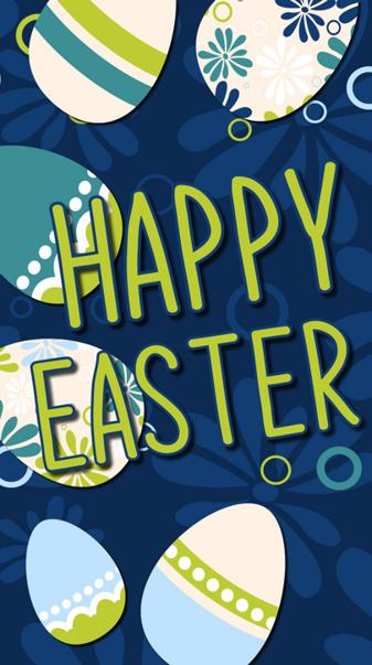 Happy Easter Blue