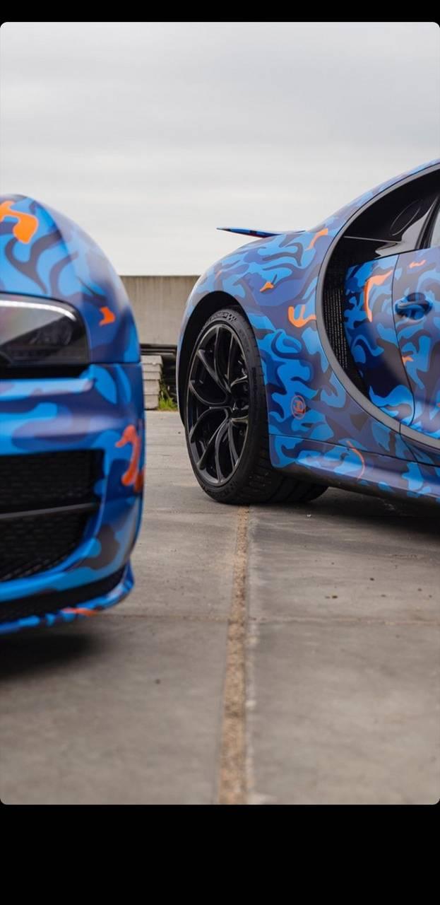 BugattiChironVeyron