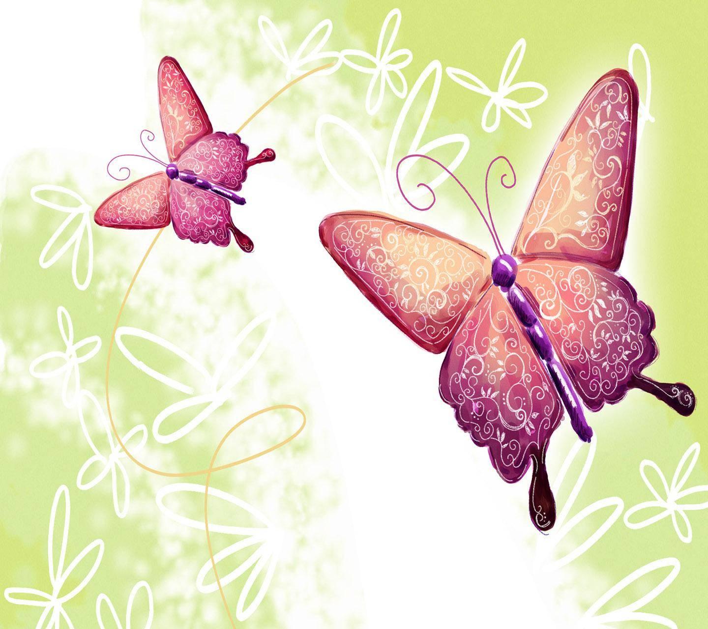 Бабочка картинка для открытки