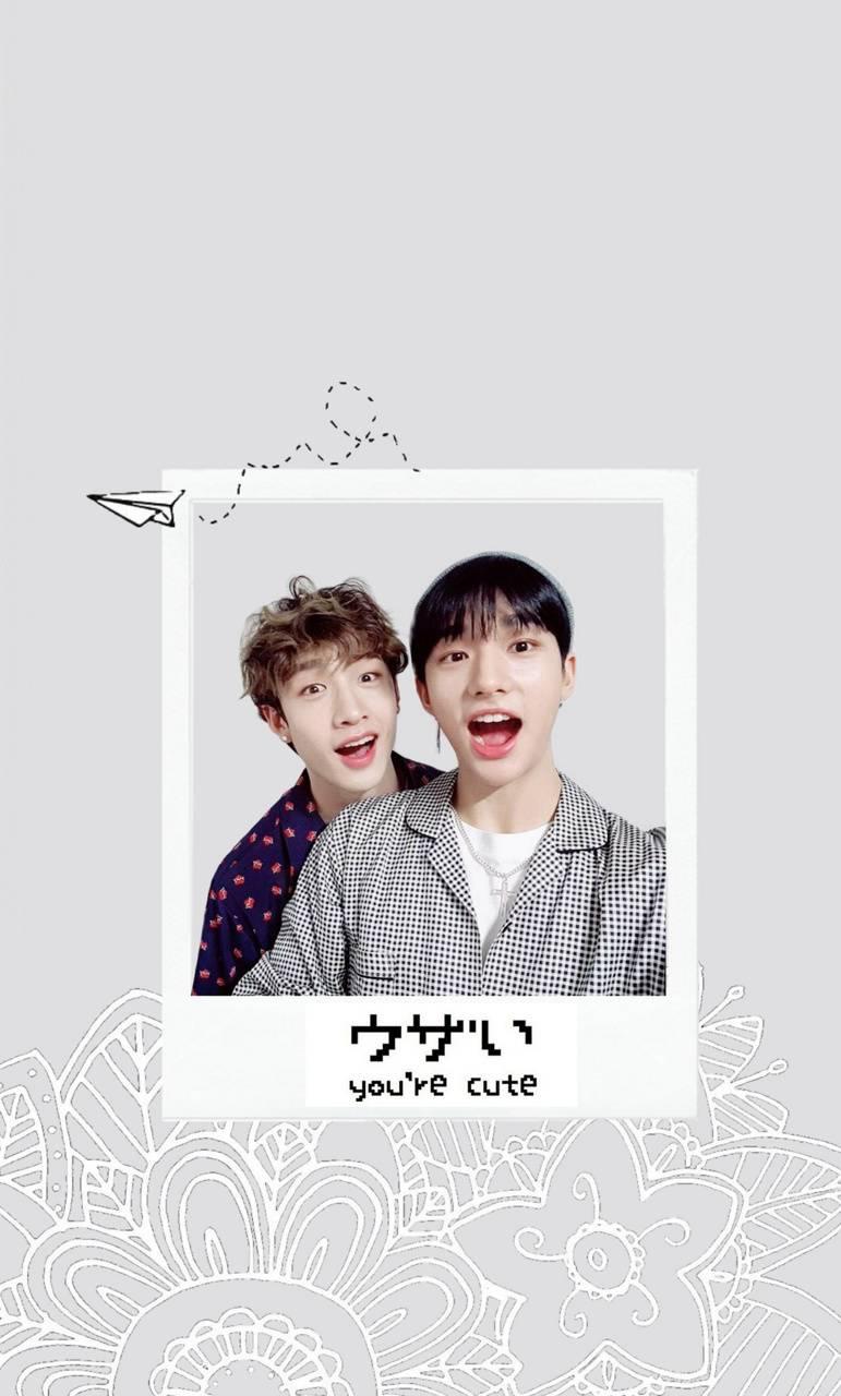 Hyunjin and Chan