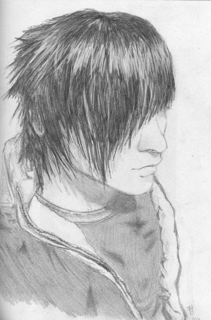 Emo Boy Drawing Wallpaper By Iam Punjabi 5b Free On Zedge