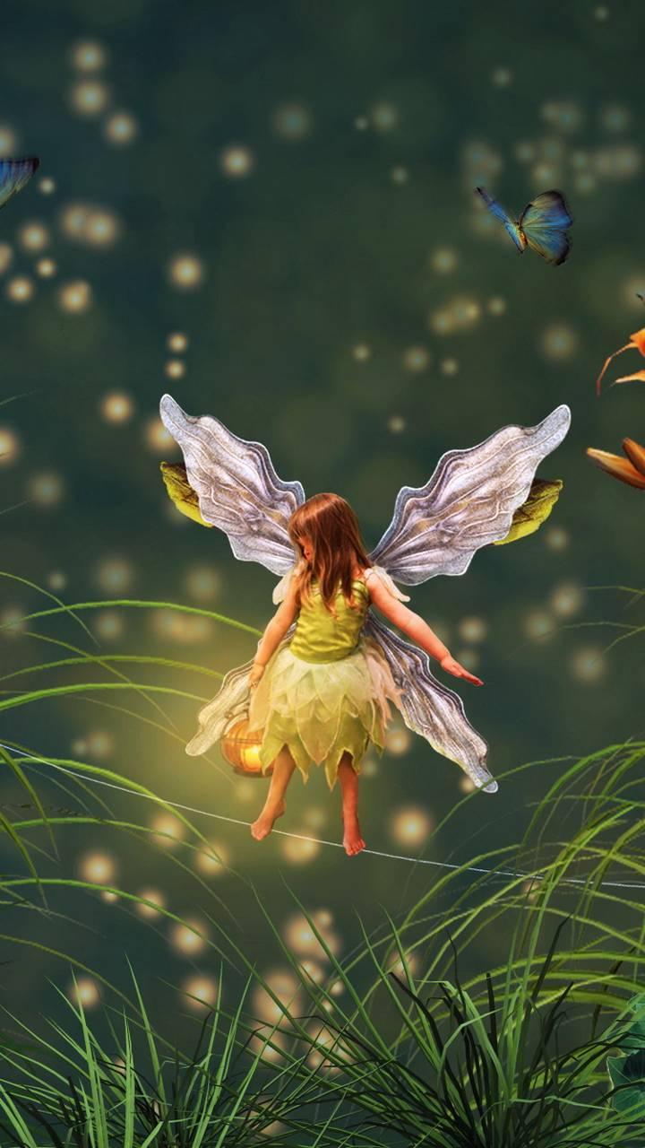 Fairy in Grass