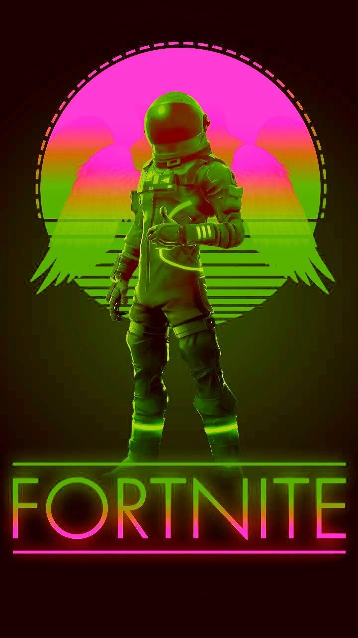 Neon Fortnite