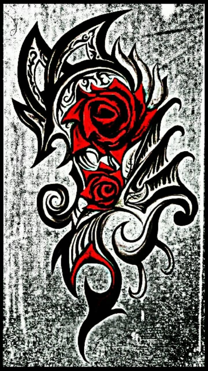 Tattoo rose 1