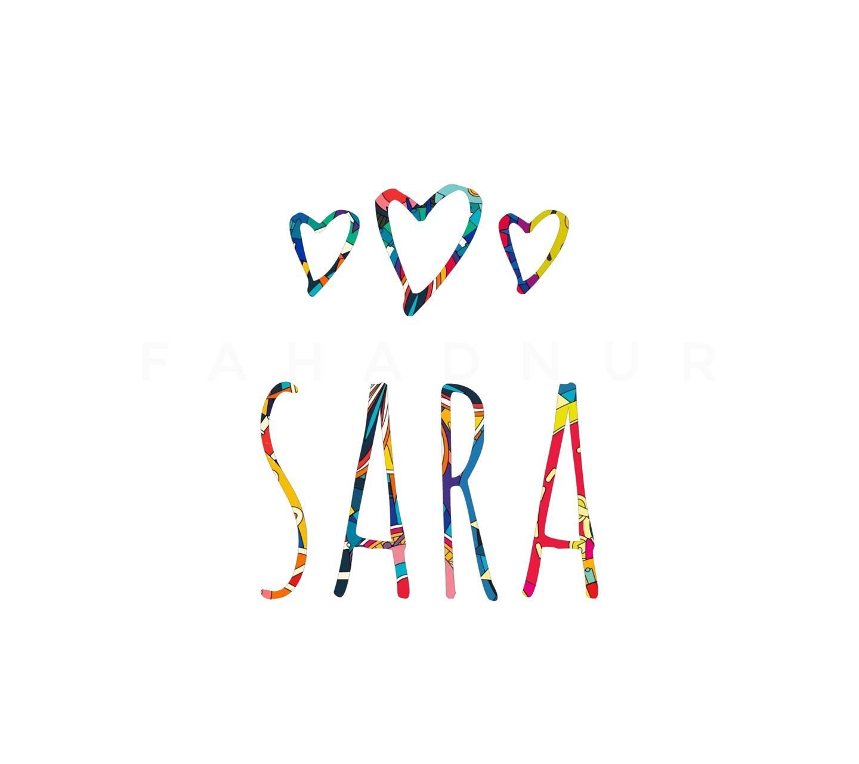 Sara - Name Art Wallpaper by NostalgicPixels - f9 - Free ...