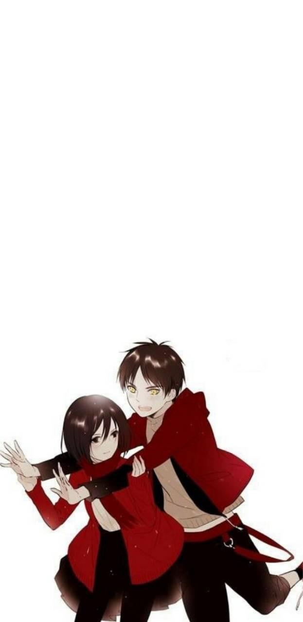 Eren And Mikasa Wallpaper By Karar243h 1e Free On Zedge