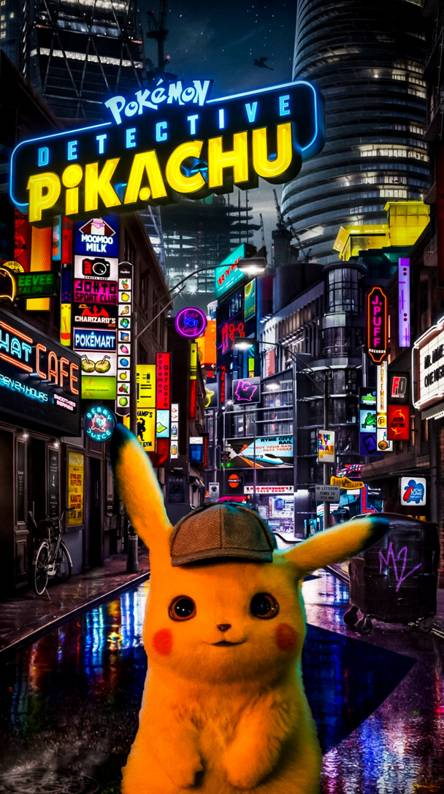 Detective Pikachu Ringtones And Wallpapers Free By Zedge