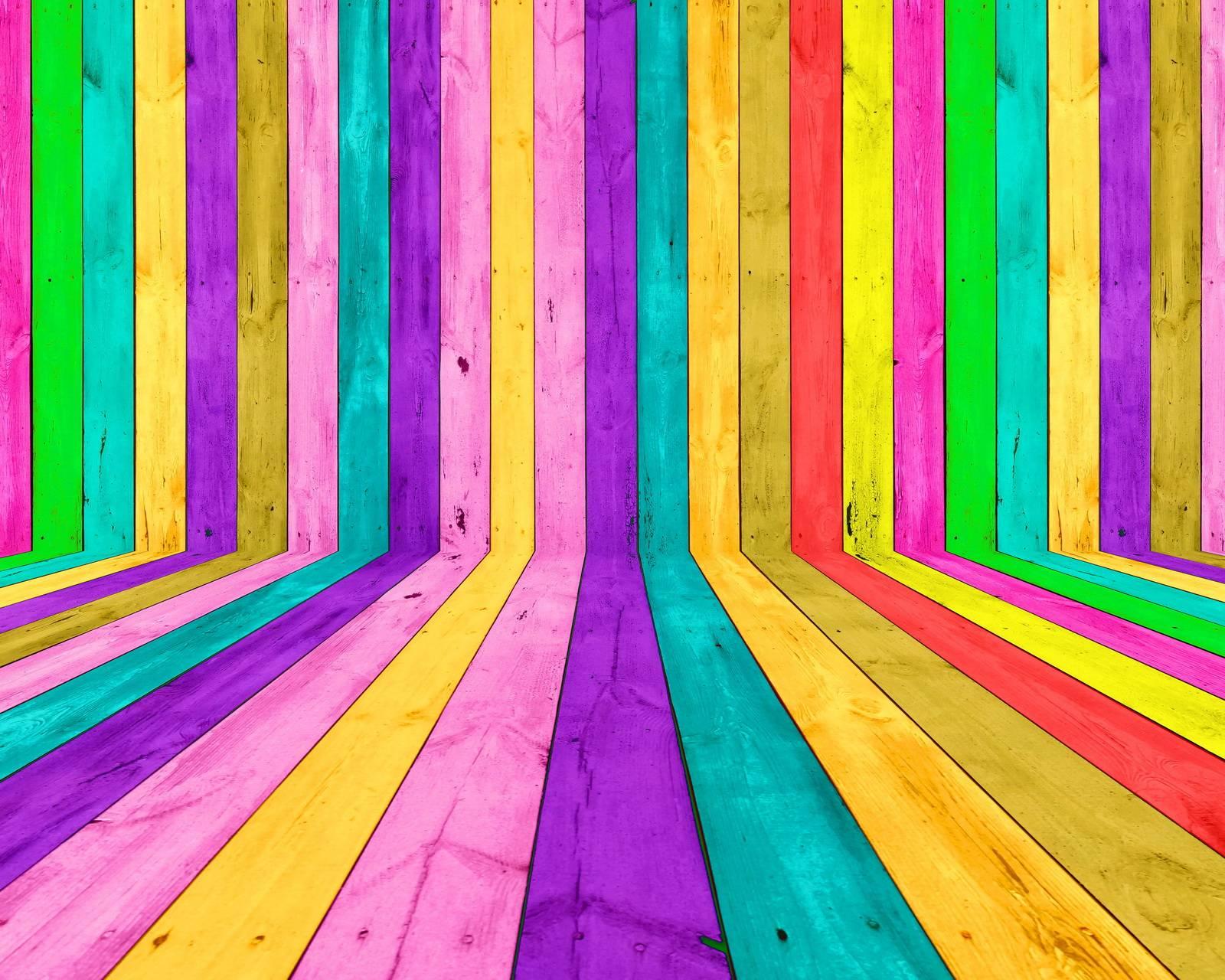 Colorful Wood Hd