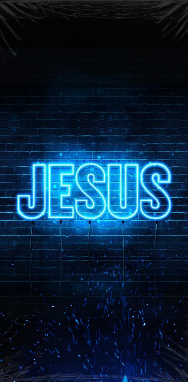 JESUS AZUL WALLPAPER