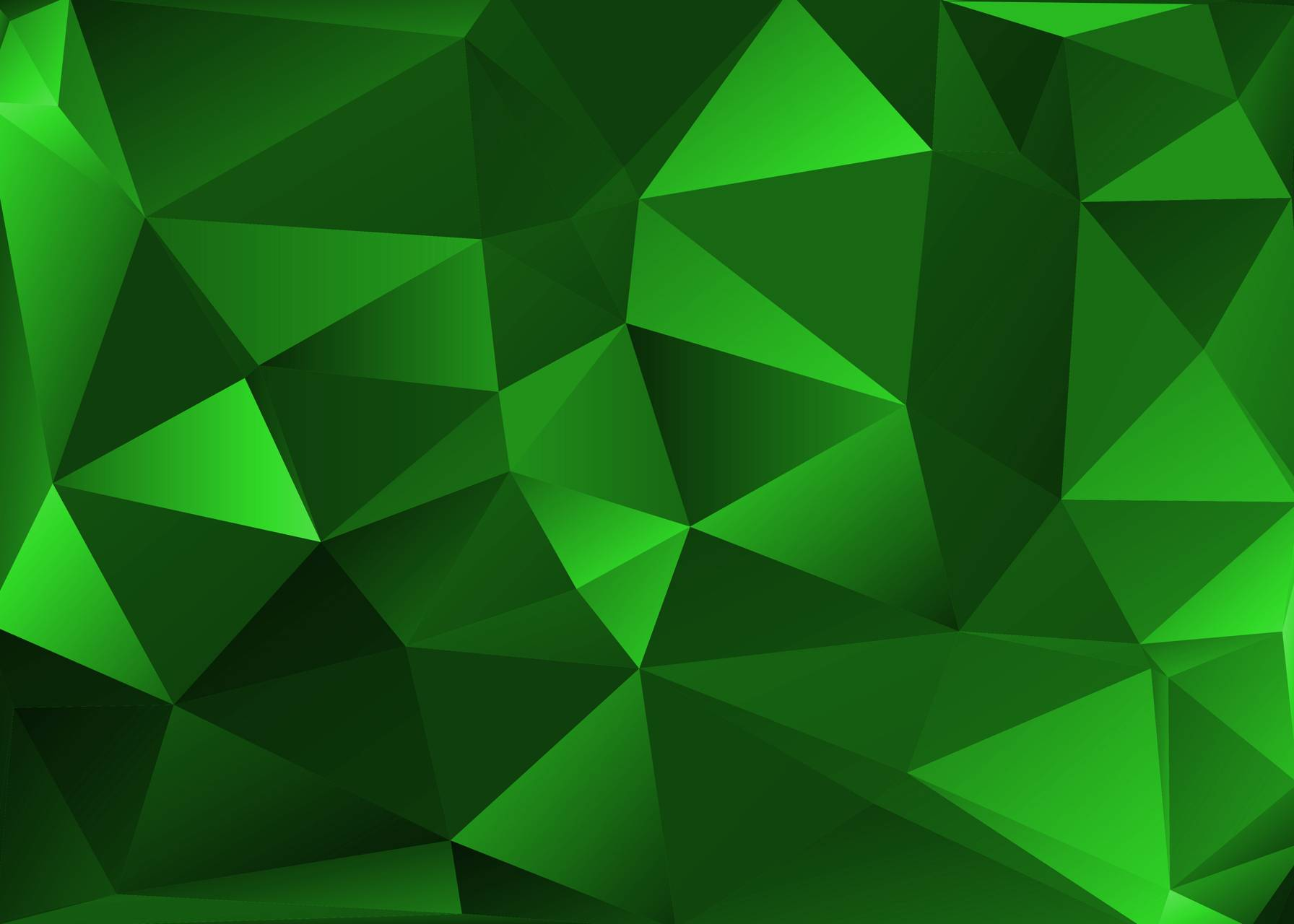 Green Polygon