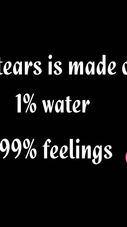 Tears And Feelings