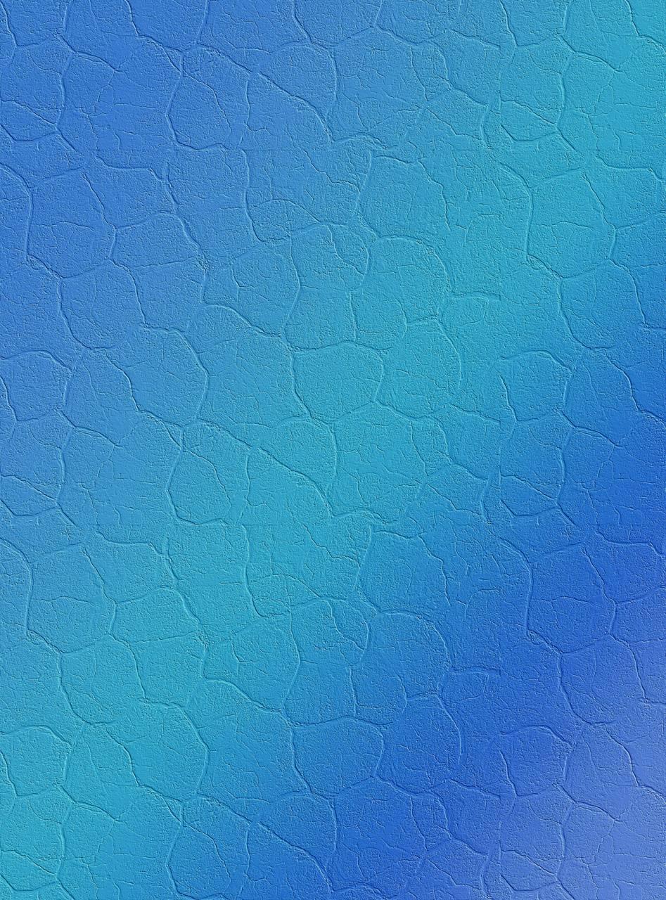 Blue Home Screen