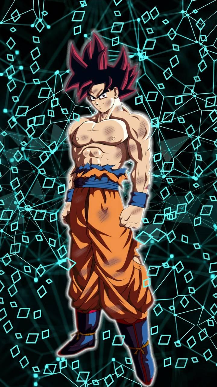Goku blue god