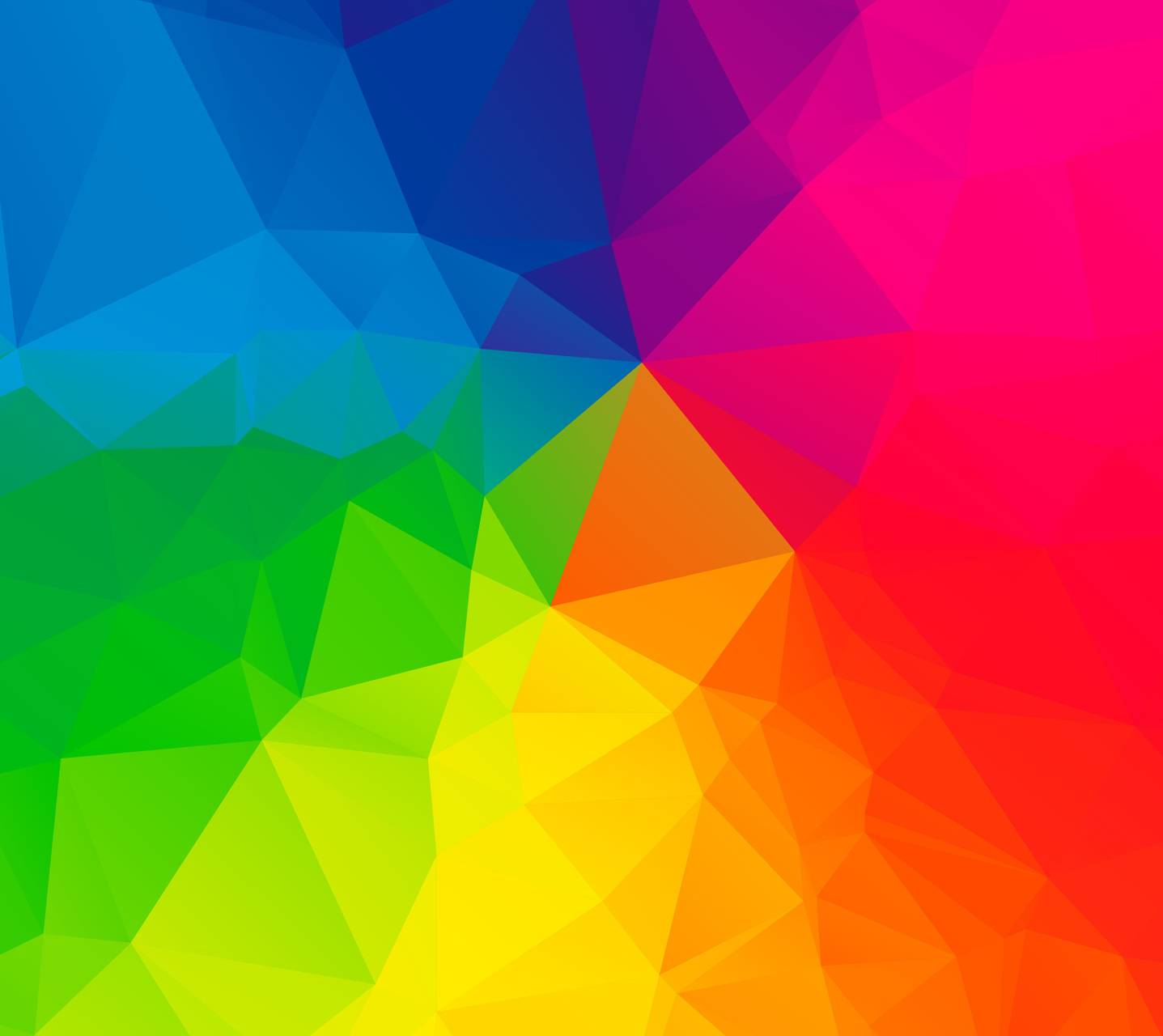 Rainbow Lowpoly