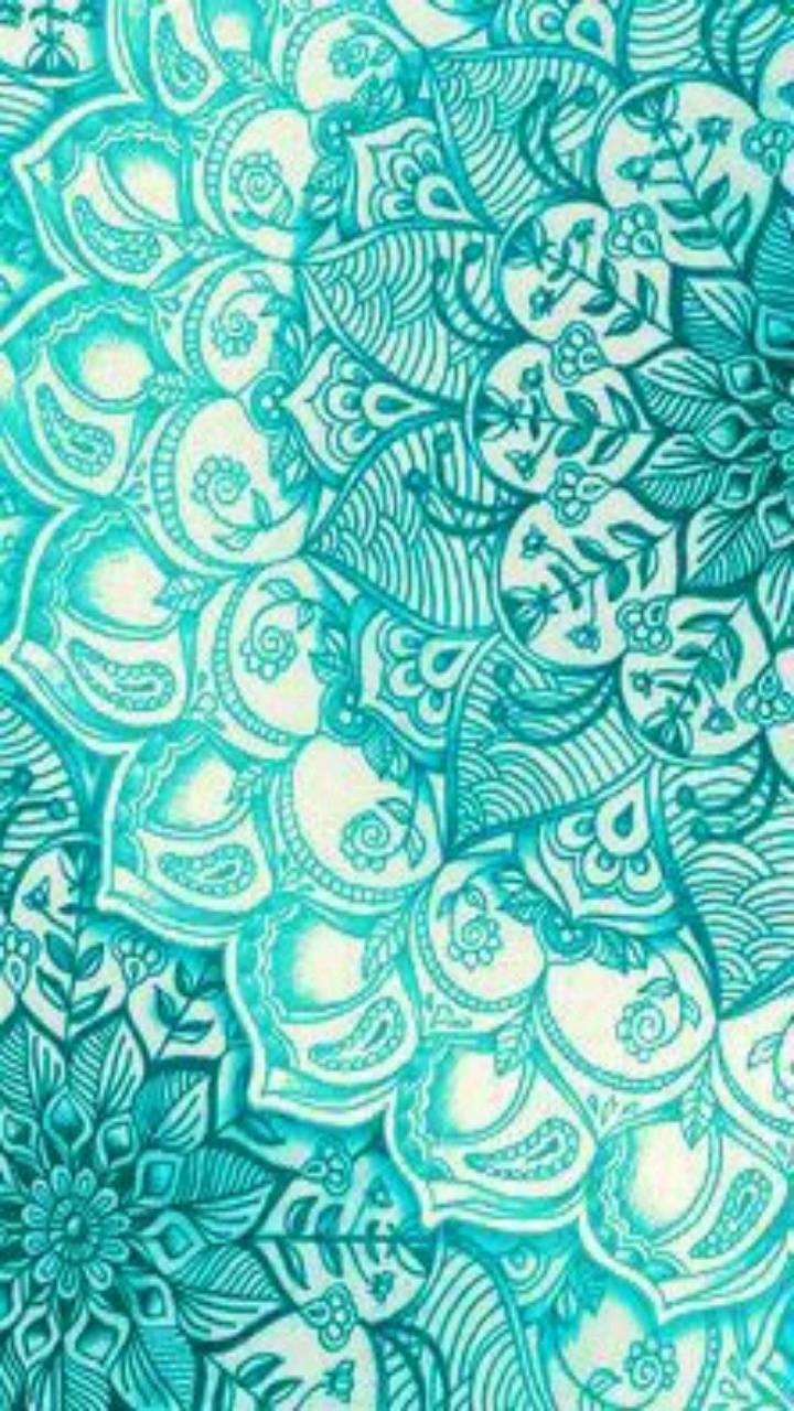 Turquoise Mandala