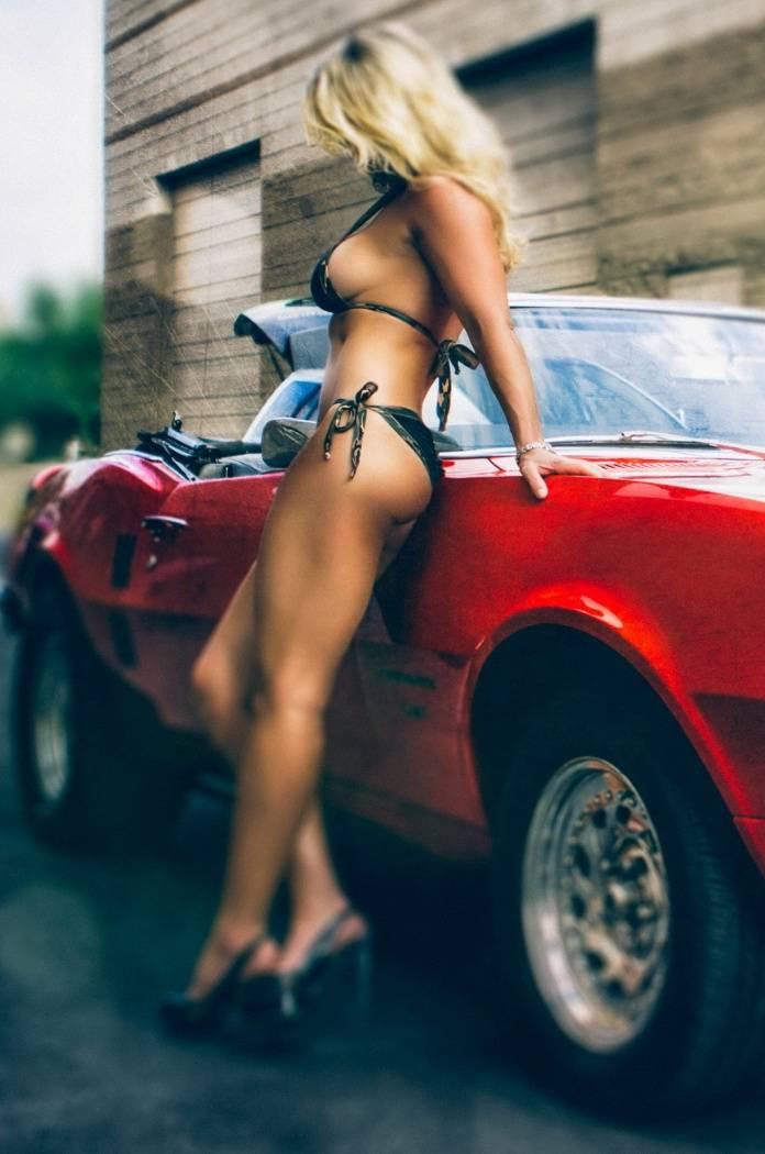 Hot Girl And Hot Car
