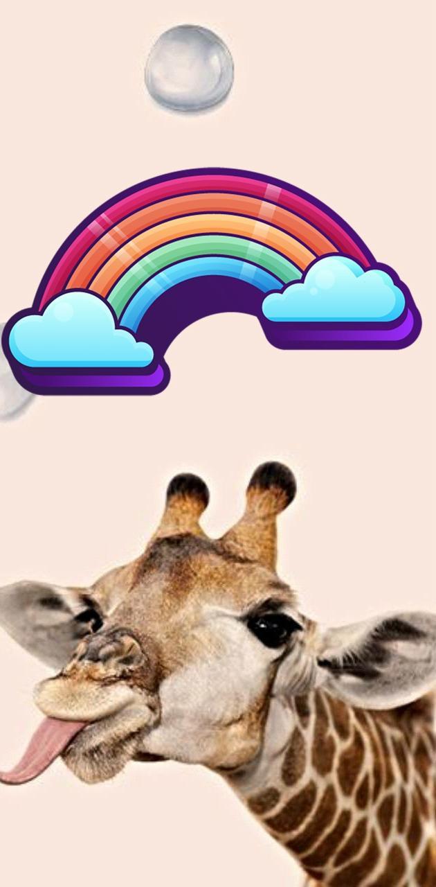 Giraffe bubbles