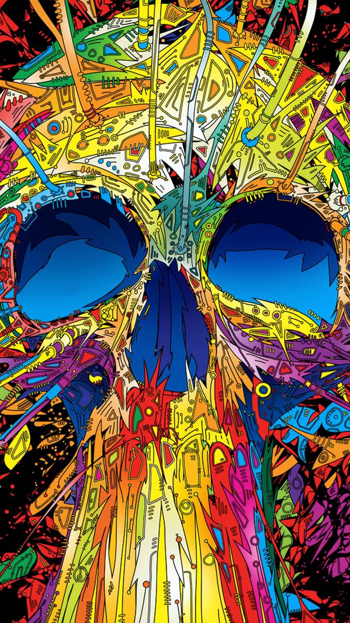 Hd abstract skull