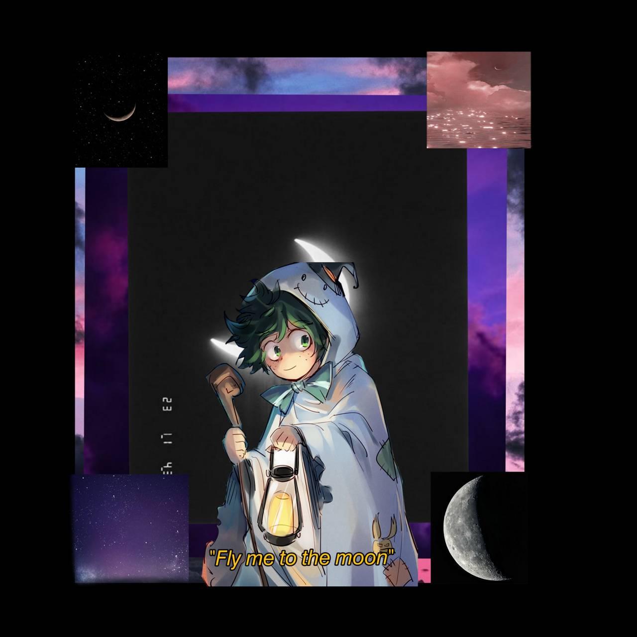 Moon Anime Boy
